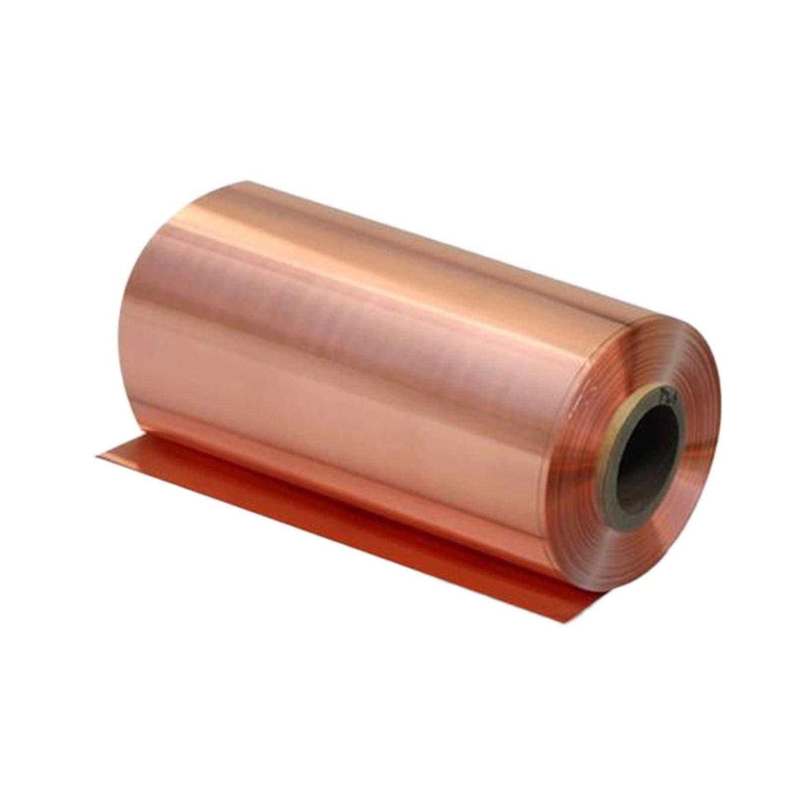 0.05mm x 100mm x 1000mm 99.9% Pure Copper Cu