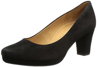 Gabor Shoes Comfort 82.190.47 Damen Pumps, Schwarz (schwarz