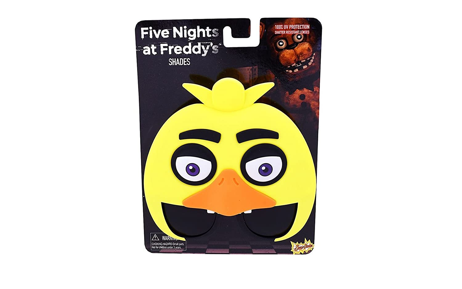 amazon com five nights at freddy s party supplies sunglasses and