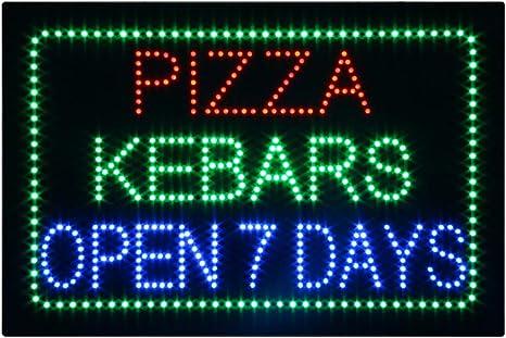 Döner Kebab LED Sign Light Display Illuminated Sign Advertising XXL Neon Sign