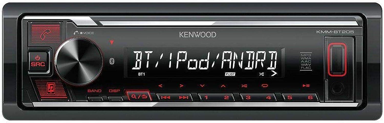caraudio24 Kenwood KMM-BT205 USB Bluetooth MP3 AUX Autoradio fr ...