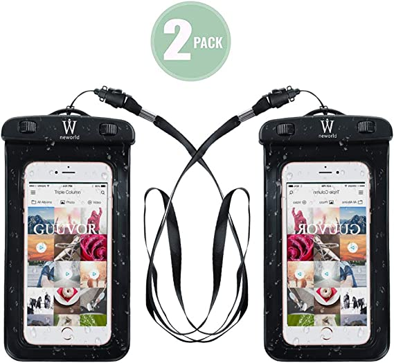 Swimming Waterproof Underwater Pouch Bag Pack Dry Case for smart Phone
