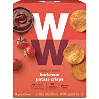 WW Barbecue Potato Crisps - Gluten-free, 2 SmartPoints - 1 Box (5 Count Total) - Weight Watchers Reimagined