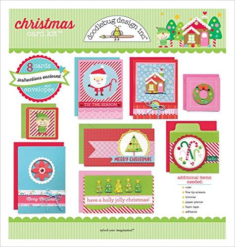 Doodlebug Designs Christmas Card Kit by DOODLEBUG
