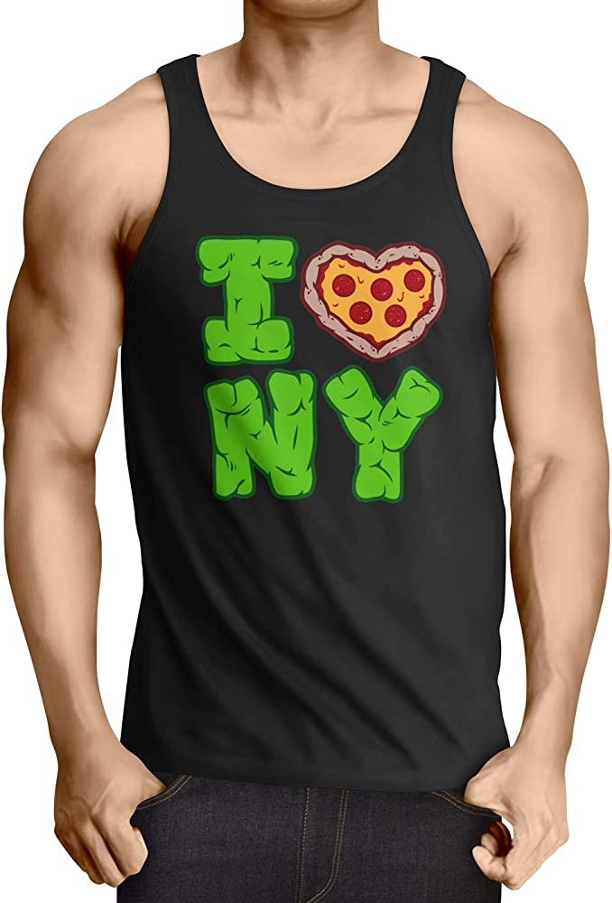CottonCloud Love NY Camiseta para Hombre T-Shirt Turtle ...