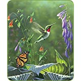 "HommomH Bath Towel 27"" x 54"" Washcloths Multi-purpose Microfiber Hummingbird Butterfly"