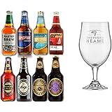 Shepherd Neame Heritage Collection 8 Cervezas 500ml + Copa. Cervezas Importadas del Reino Unido.