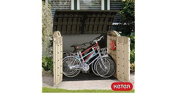 Cobertizo para bicicletas