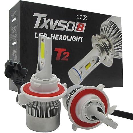 H3 110W 16000LM LED Headlight Conversion Kit Car Beam Bulb Driving Lamp 6000K