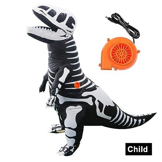 6SlonHyAdulto Niños Halloween Decoración Dinosaurio Tyrannosaurus ...
