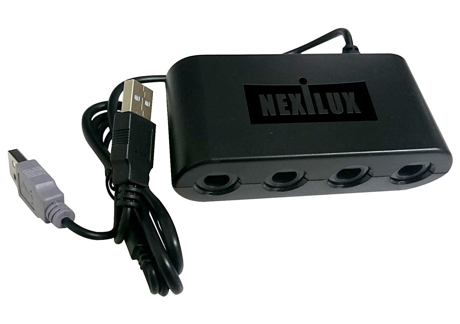 GameCube Controller Adapter for Wii U,PC USB & Switch - NEXiLUX