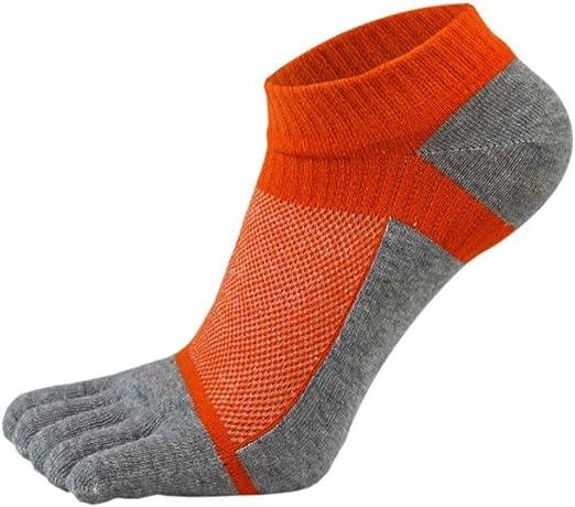 XIAOXUQ 1 par de Calcetines de Malla para Hombre, Calcetines de ...
