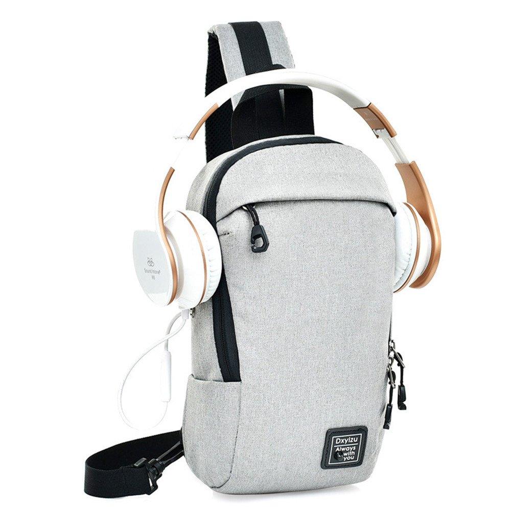 Oxford cloth mens chest bag casual fashion shoulder bag sports diagonal package