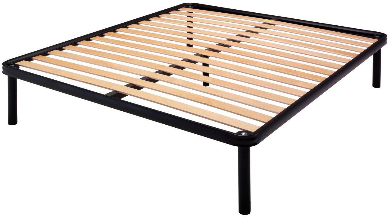 Bed Store RETE 160x190 LETTO A DOGHE CON 5 PIEDI MATRIMONIALE 2 PIAZZE struttura in ferro
