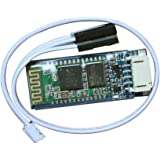 KEDSUM Upgraded Arduino HC-06 Serial Bluetooth Slave Wireless RF Transceiver Module with DuPont Cable