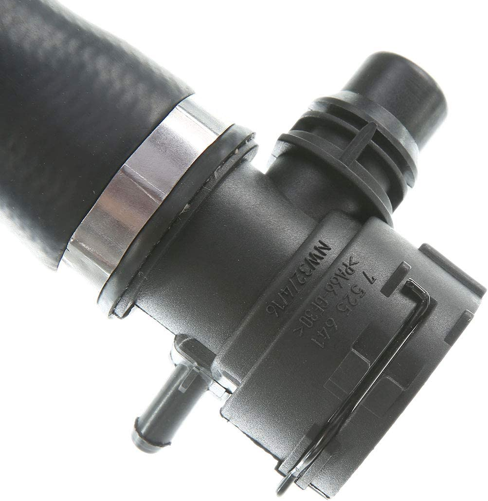 A-Premium Upper Radiator Coolant Hose Replacement for BMW 128i 325i 325Xi 328i 328i xDrive 330i 330xi