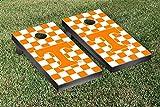 Tennessee Vols Volunteers Regulation Cornhole Game Set Checkerboard Version