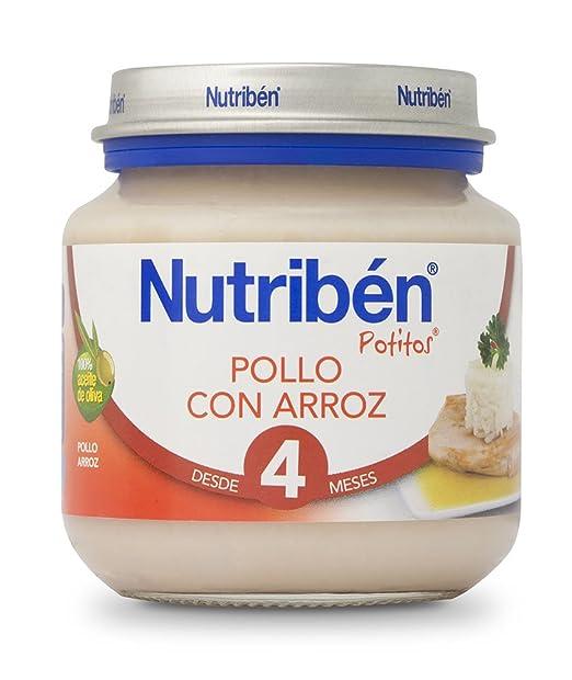 Nutriben Potito Pollo y Arroz - 130 gr