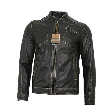 Herren Jacken Vanguard Lederjacke Designer Kleidung