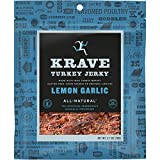 KRAVE Jerky Turkey, Lemon Garlic, 2.7 Ounce