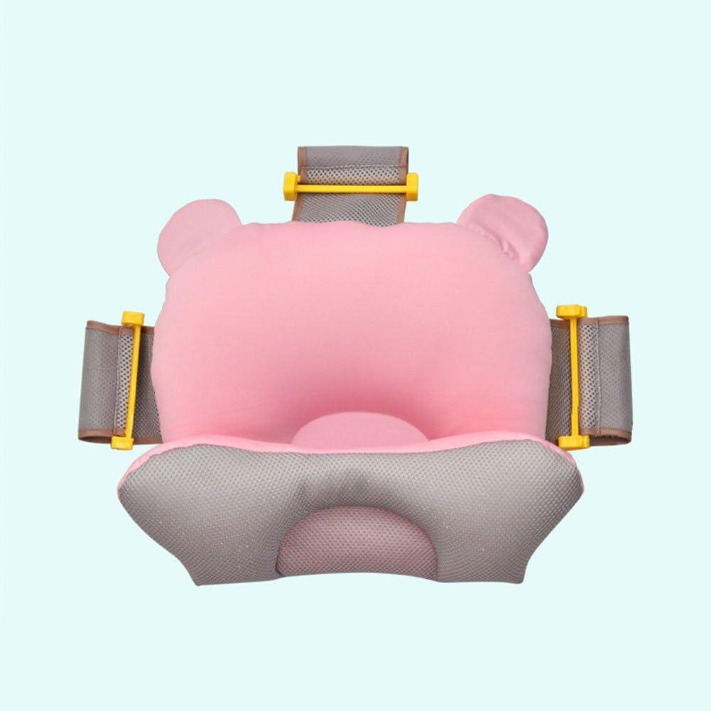 almohadilla de ba/ño para beb/é para reci/én nacidos 0-12 meses asiento de ba/ño antideslizante suave Zebroau Almohada de ba/ñera para beb/é coj/ín para beb/é