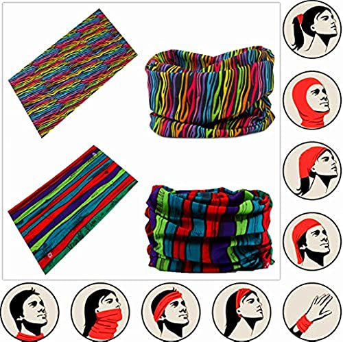 63fc34d6005 Headwear Head Wrap Sport Headband Sweatband 220 Patterns 12 in 1 Magic Scarf  12PCS   6PCS 12 in 1 By VANCROWN (12PCS.Lost) in Dubai - UAE
