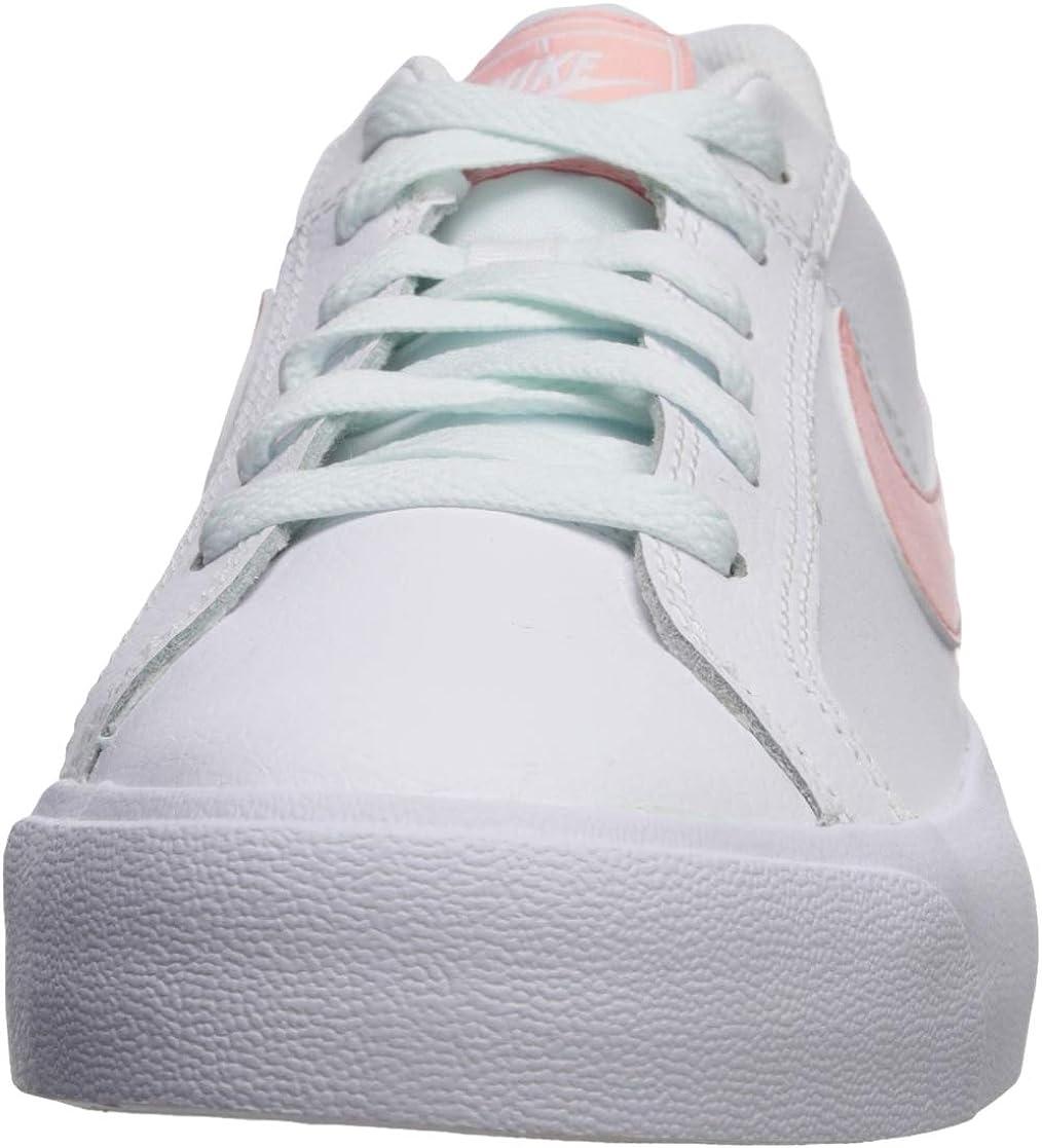 Nike Court Royale AC, Scarpe da Ginnastica Basse Donna Bianco White Bleached Coral Ghost Aqua 107