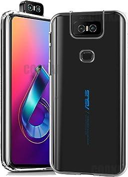 cookaR Funda ASUS Zenfone 6 2019 ZS630KL HD Cristal, Carcasa ...