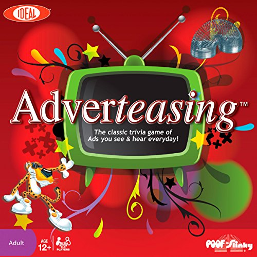Ideal Adverteasing Trivia Board Game