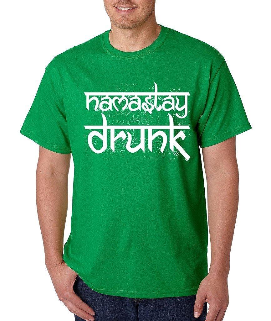 Irish Day Funny Namaslay Drunk Namaste T-shirt Proud Irish Shamrock Shirts Irish Green 1075