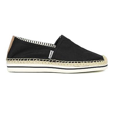 cff5bc6b4b6c Joy   Mario Women s Skyler Classic Extra Platform Espadrilles Shoes (Black