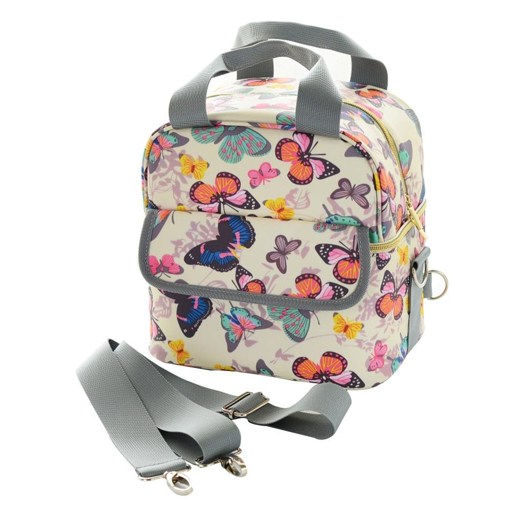 LLZJ Changing Nappy Backpack for Mom Fashion and Function in One Bag Insert Stylish Travel Satchels Diaper Totes Bag Package Daily Use Shoulder, E