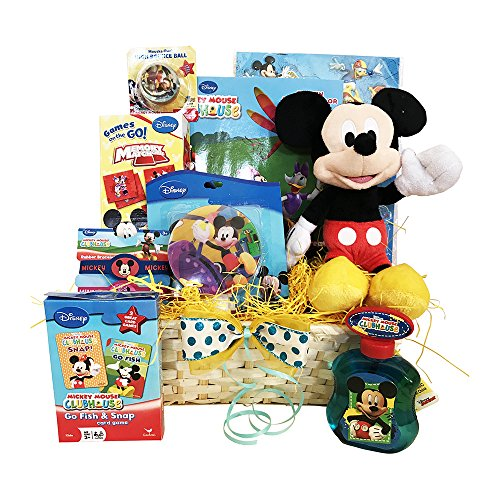 Valentines-Day-Gift-Baskets-for-kids-a-special-XOXO-Mikey-themed-Valentine-Gift-Basket-for-boys-with-Mickey-Mouse-Plush