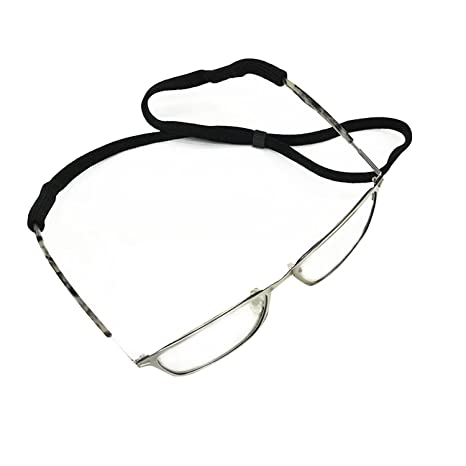 100% authentifié lisse revendeur Emooqi Cordon sport pour lunettes et lunettes de soleil, ajustement  universel Corde de lunettes, lunettes Système de rétention