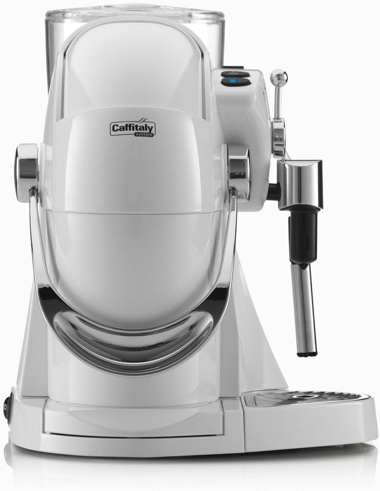 Máquina Café Caffitaly Nautilus s11hs blanco crema: Amazon.es: Hogar