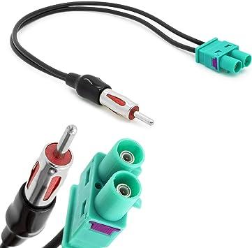 Auto Radio Antenne Doppel Fakra Auf Din Iso Adapter Elektronik