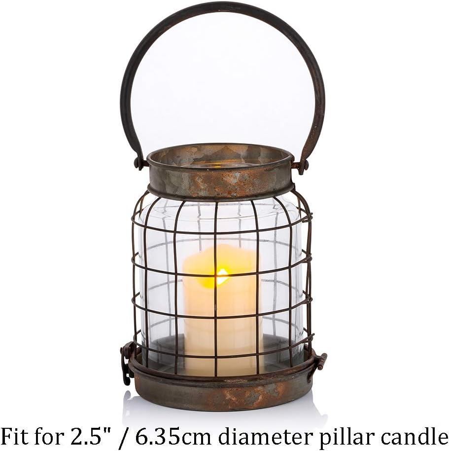 Bois Pilier Bougeoir D/étenteurs Rustique Chandeliers Chandeliers for la Maison d/écoration de la Chambre Aigend Candlestick