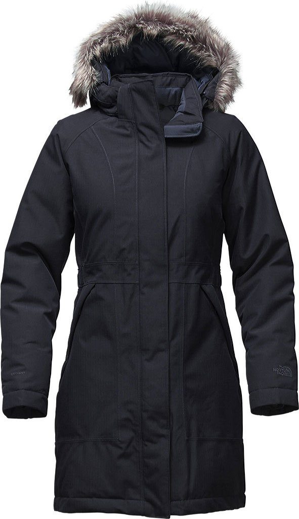 The North Face Arctic Parka レディース フード付き ロング ダウンコート B017UX9XUM L|Urban Navy Heather Urban Navy Heather L