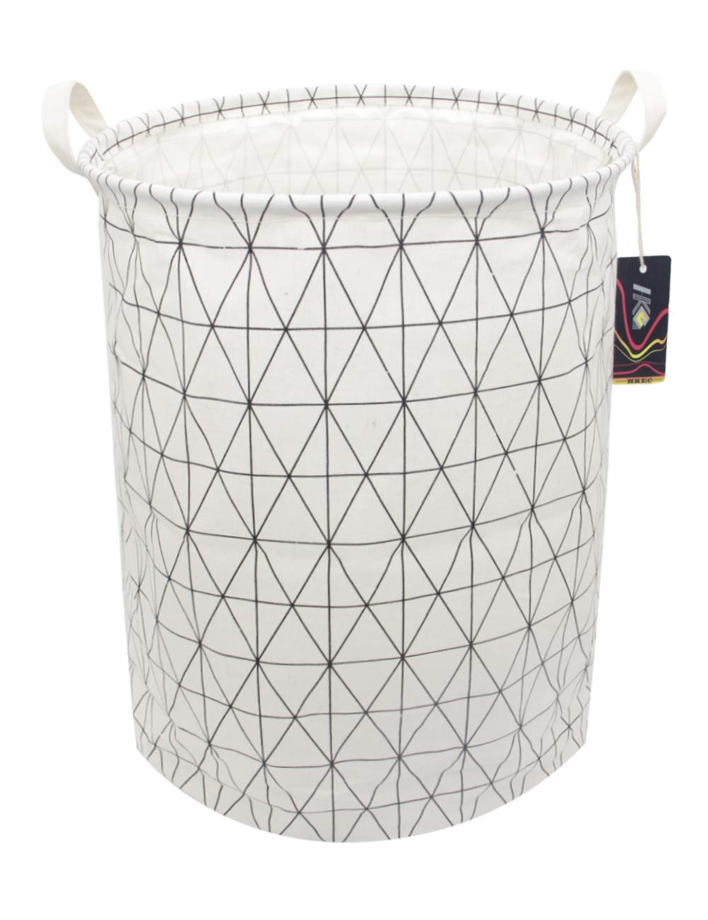 Basketball Toy Bins Dirty Clothes Laundry Basket HKEC 19.7/'/' Waterproof Foldable Storage Bin Canvas Organizer Basket for Laundry Hamper Gift Baskets Clothes Baby Hamper Bedroom