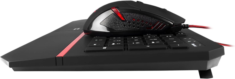 Mars Gaming MCP2 - Combo gaming de teclado y ratón (teclado RGB 7 colores, reposamuñecas extendido, teclas planas, layout ES, sensor óptico 2800 DPI, 6 botones gaming): Mars-Gaming: Amazon.es: Informática