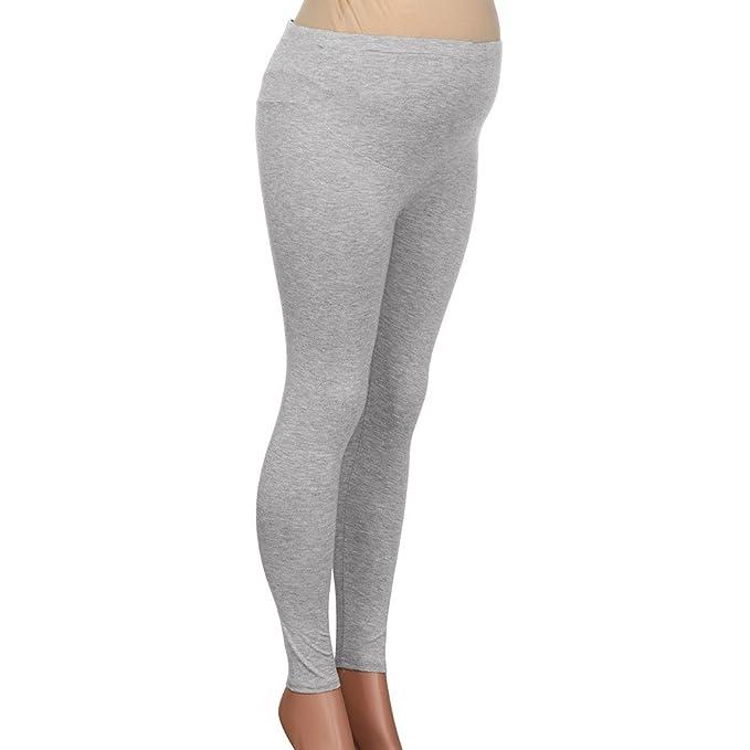 c76e1864c STRIR Pantalones Premamá Leggings Banda para Barriga Mujer Embarazada  Maternidad  Amazon.es  Ropa y accesorios