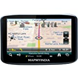 Mapmyindia Lx350 12.7cm Touch Screen GPS Navigation Tracking Device (Black)