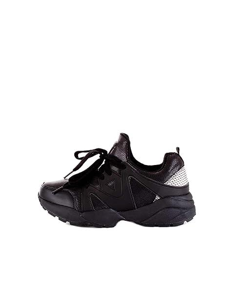 GUESS FL5SEMFAB12 Zapatillas Mujer Negro 35
