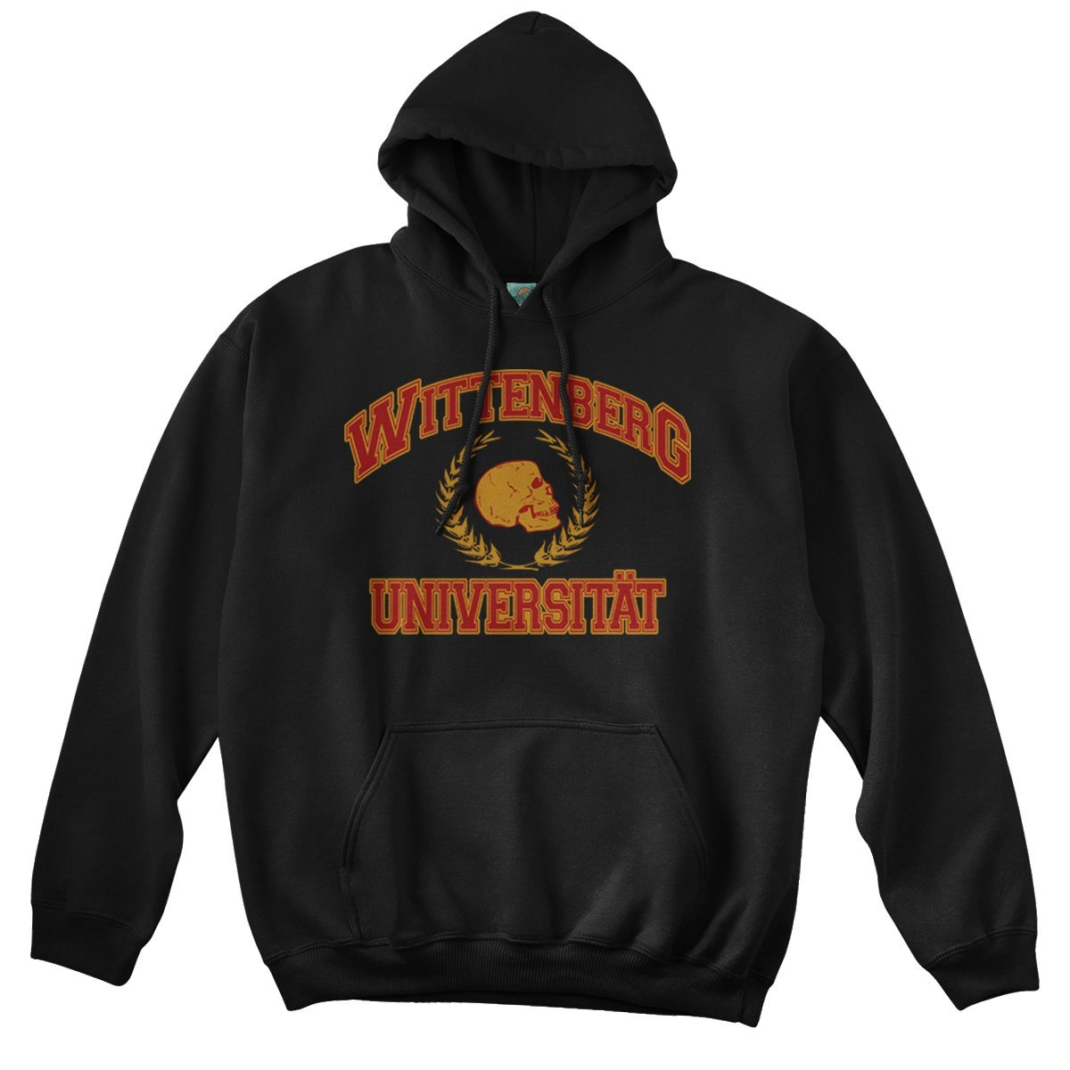 Bathroom Wall Hamlet Inspired Wittenberg UNIVERSITAT Shakespeare, Hoodie