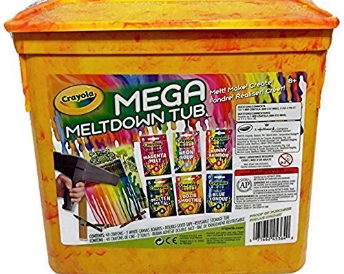 - Crayola Mega Meltdown Tub