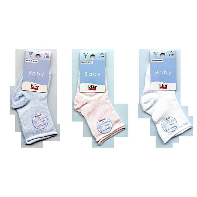 KLER BABY 85130 - calcetin bebe de 0 a 24 meses: Amazon.es: Ropa y accesorios