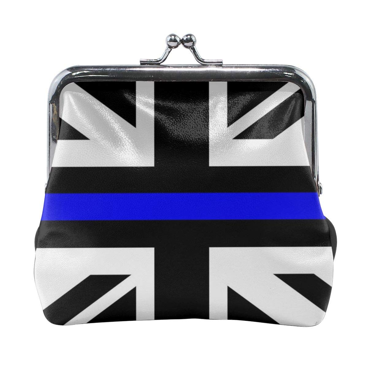 Black British Flag Cute Buckle Coin Purses Buckle Buckle Change Purse Wallets