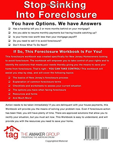 New Jersey Foreclosure Workbook: A Step-By-Step Guide To ...