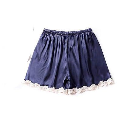 5ad3cb0f2 MRxcff Women's Pajamas Pant Shorts Summer Home Pant Silk Satin Casual Sleepwear  Pants Pyjamas Women Lounge