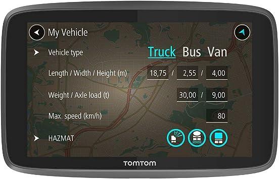 Tomtom Go Professional 620 Navegación Profesional Para Vehículos Grandes Tomtom Traffic A Traves De Smartphone 6 Pulgadas Negro Amazon Es Electrónica